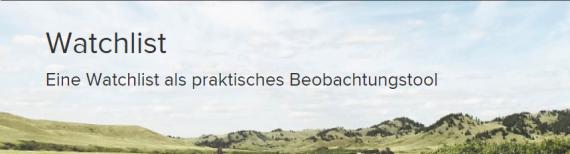 Watchlist Consorsbank
