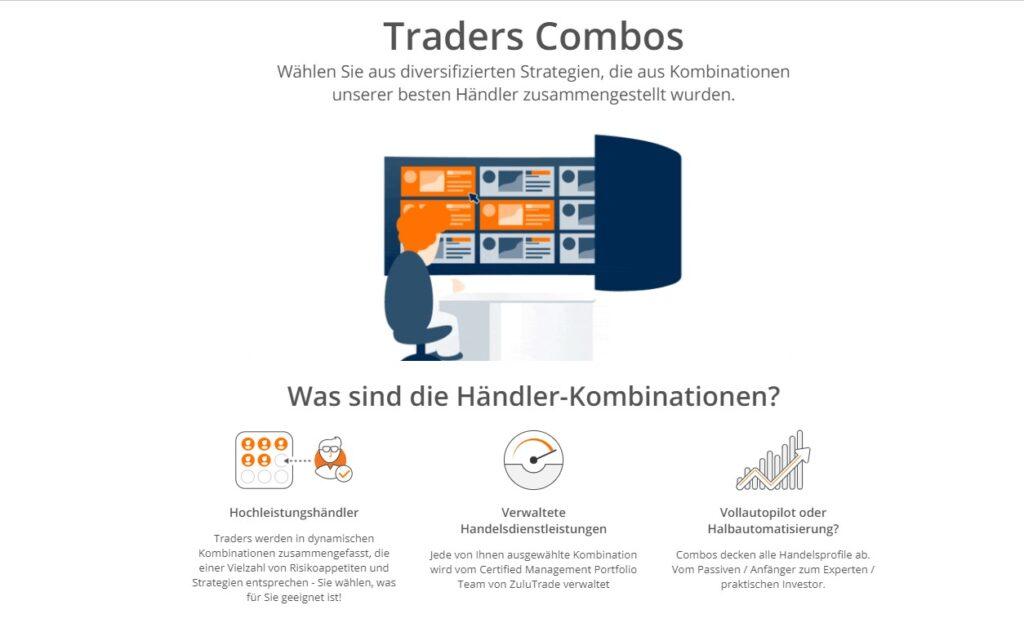 Nutzen Sie die Händler-Combos bei ZuuTrade