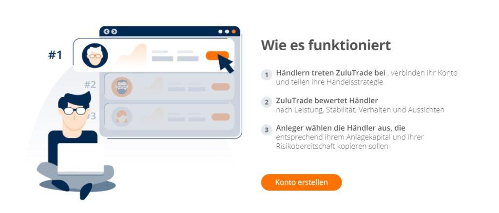 ZuluTrade bietet auch eine Android App an