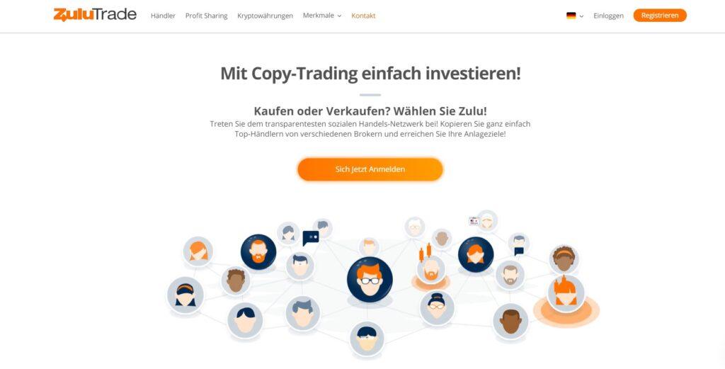Das ist die Forex-Handelsapp von ZuluTrade für das iPad & iPhone