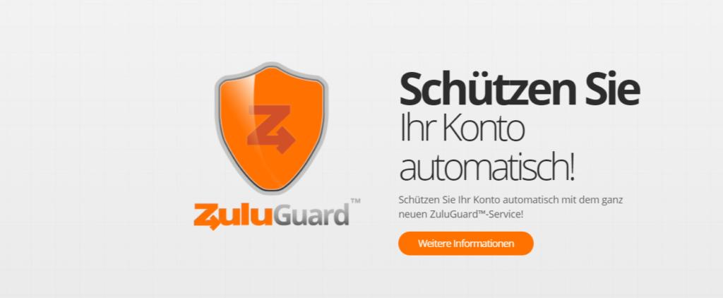 Der ZuluGuard bietet optimalen Schutz