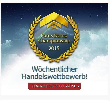 Mayzus-Wettbewerb Forex Demo Championship