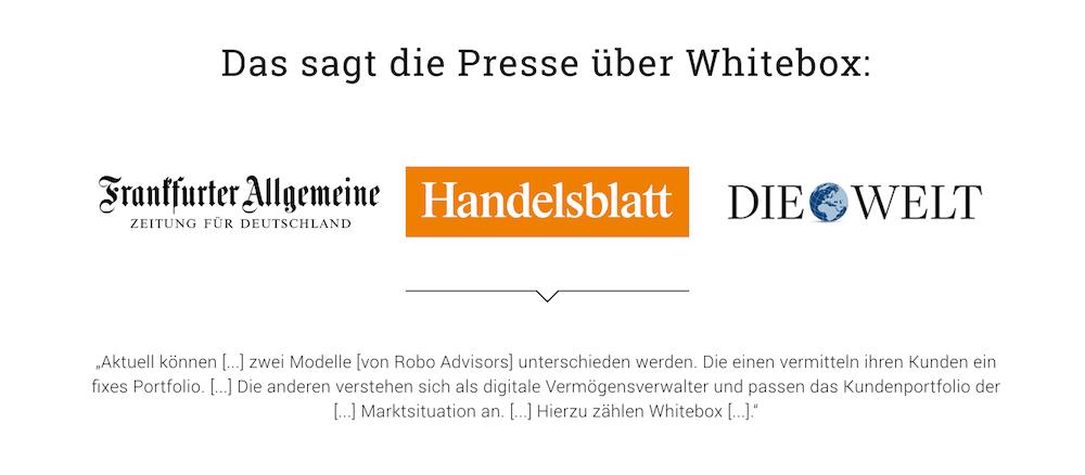 Whitebox Presse