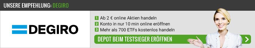 ETF Broker Vergleich von Aktiendepot.net
