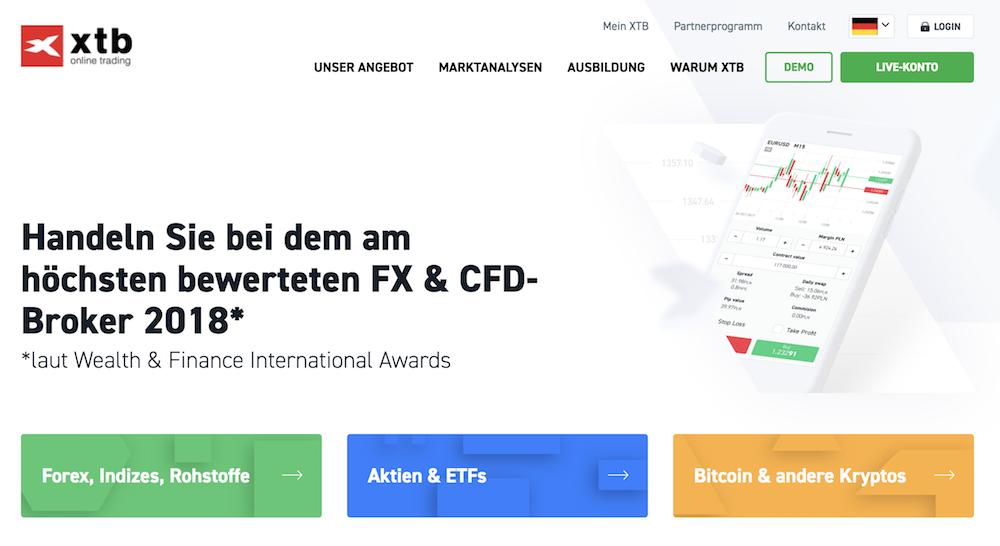 In Sachen Forex- und CFD-Handel steht XTB genauso gut da, wie für ETF-Anleger