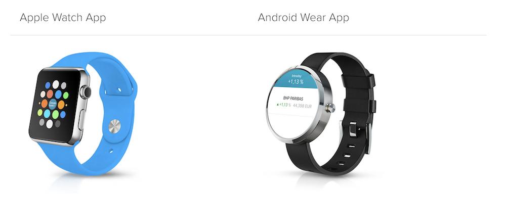 Consorsbank App Smartwatch