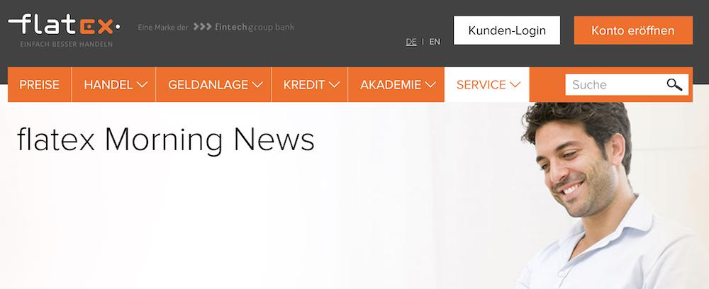 flatex News Marktgeschehen
