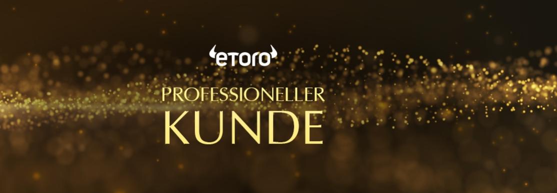 eToro professioneller Kunde