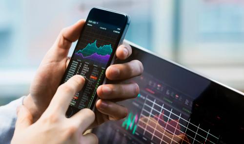 Aktien Handel per Smartphone