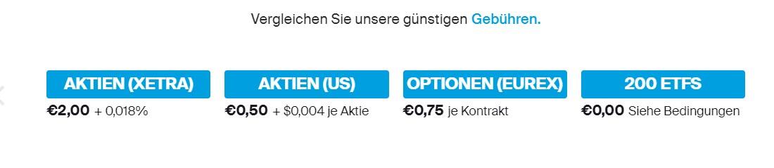 Bereits ab 2,00 Euro können Trader bei DEGIRO Aktien erwerben